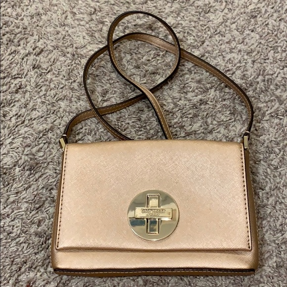 Hill /& How Crossbody Pouch BagRose Gold